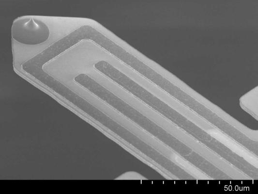 Self-Sensing cantilever-Si-tip-PRSA-L100-3D