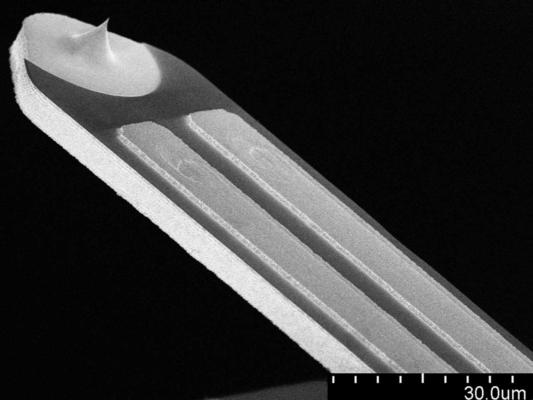 Self-Sensing cantilever-si-tip-PRS-L70-3D