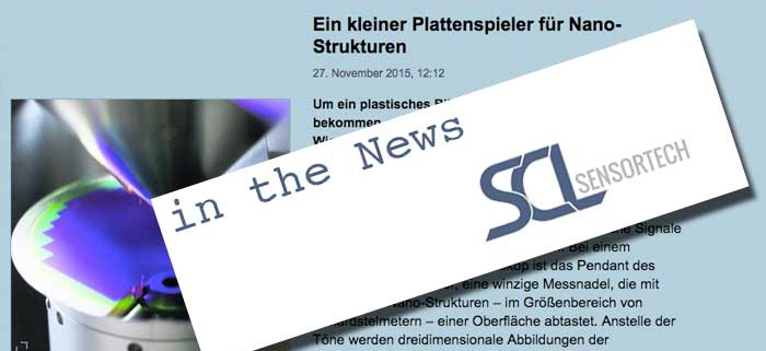 News Article about SCL on standard.at