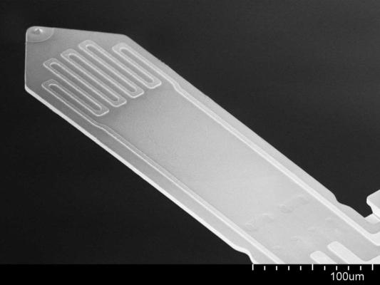Self-Sensing Cantilever SI Tip PRSA L300 3D